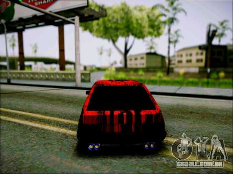 2109 Agressivo para GTA San Andreas vista direita
