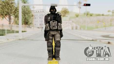 Helghan Assault Trooper without Pipes para GTA San Andreas segunda tela