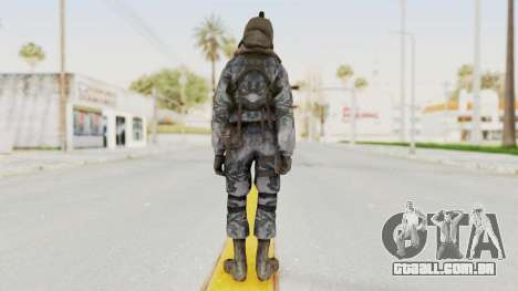 COD 4 Custom Russian Soldier para GTA San Andreas terceira tela
