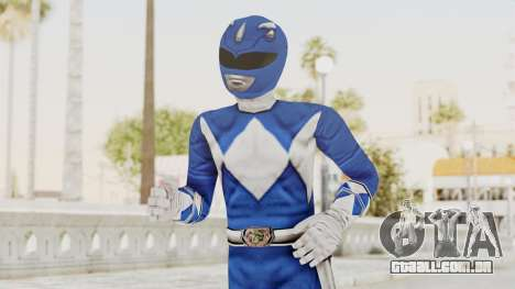 Mighty Morphin Power Rangers - Blue para GTA San Andreas