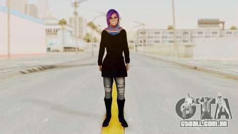 Iranian Girl Skin v2 para GTA San Andreas segunda tela