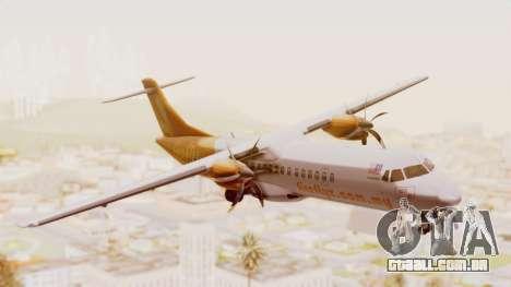 ATR 72-500 Firefly Airlines para GTA San Andreas traseira esquerda vista