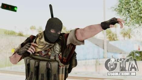 Battery Online Russian Soldier 3 v2 para GTA San Andreas