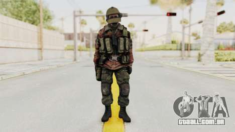 Battery Online Russian Soldier 10 v2 para GTA San Andreas segunda tela