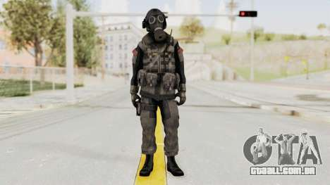 CoD MW3 Russian Military LMG Black para GTA San Andreas segunda tela