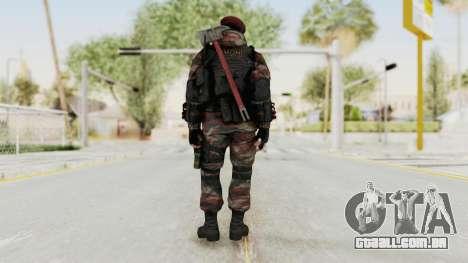 Battery Online Russian Soldier 1 v2 para GTA San Andreas terceira tela