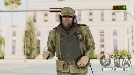 MGSV Ground Zeroes US Pilot v1 para GTA San Andreas