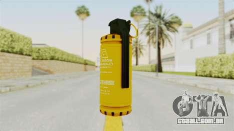 Tear Gas Gold para GTA San Andreas