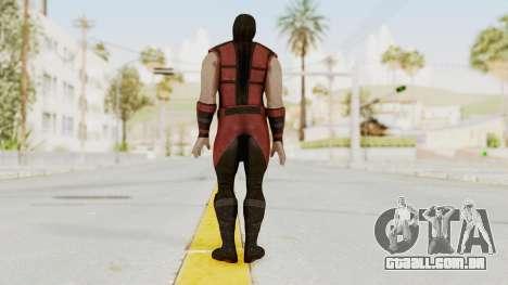Mortal Kombat X Klassic Ermac para GTA San Andreas terceira tela