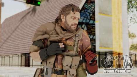 MGSV The Phantom Pain Venom Snake Sc No Patch v5 para GTA San Andreas