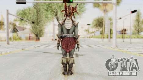 Mortal Kombat X - Kotal Kahn para GTA San Andreas terceira tela