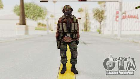 Battery Online Russian Soldier 7 para GTA San Andreas segunda tela
