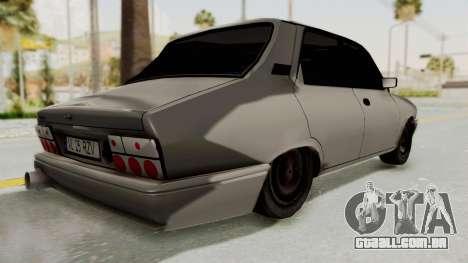 Dacia 1310 TI Tuning v1 para GTA San Andreas traseira esquerda vista