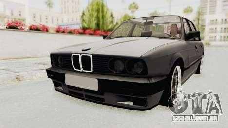 BMW M3 E30 para GTA San Andreas vista direita