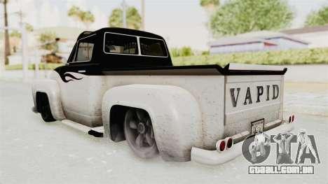GTA 5 Slamvan Lowrider PJ1 para GTA San Andreas vista direita