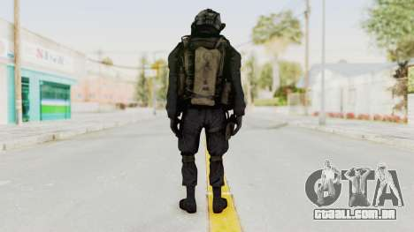 COD MW2 Shadow Company Soldier 1 para GTA San Andreas terceira tela