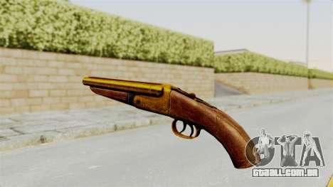 Sawnoff Gold para GTA San Andreas segunda tela