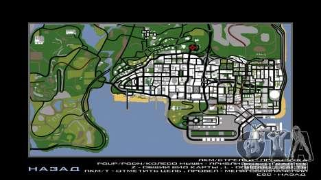 New Vinewood Russia para GTA San Andreas por diante tela