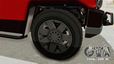GTA 5 Karin Beejay XL IVF para GTA San Andreas vista traseira