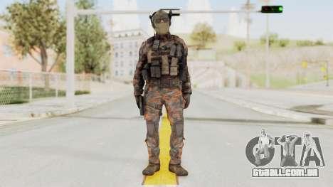 COD Black Ops 2 Cuban PMC 1 para GTA San Andreas segunda tela