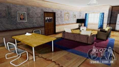 CJs House New Interior para GTA San Andreas quinto tela