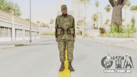 MGSV Ground Zeroes US Soldier Armed v1 para GTA San Andreas segunda tela
