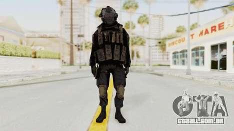 COD MW2 Shadow Company Soldier 1 para GTA San Andreas segunda tela