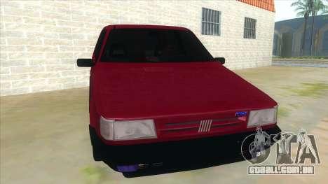 Fiat Uno S para GTA San Andreas vista traseira