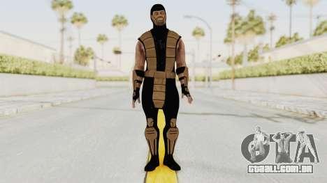 Mortal Kombat X Klassic Tremor para GTA San Andreas segunda tela