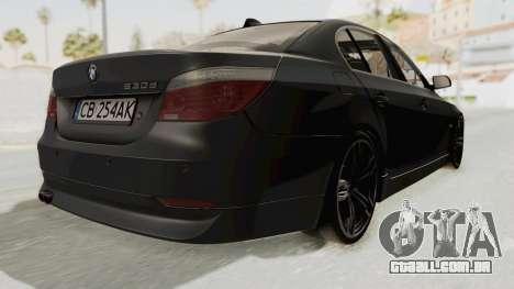 BMW 530D E60 para GTA San Andreas vista direita