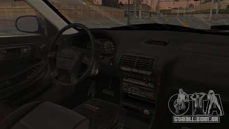 Acura Integra Fast N Furious para GTA San Andreas vista interior