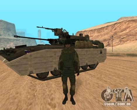 Forças especiais da Federação russa para GTA San Andreas