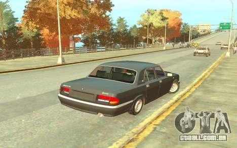 GAZ 3110 para GTA 4 vista direita