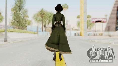 Bioshock Infinite Elizabeth Gibson para GTA San Andreas terceira tela