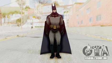 Batman Arkham City - Batman v1 para GTA San Andreas segunda tela