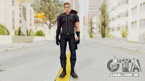 Captain America Civil War - Hawkeye para GTA San Andreas segunda tela