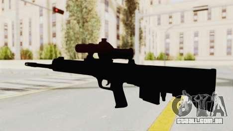 QBU-88 para GTA San Andreas terceira tela
