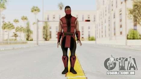 Mortal Kombat X Klassic Ermac para GTA San Andreas segunda tela