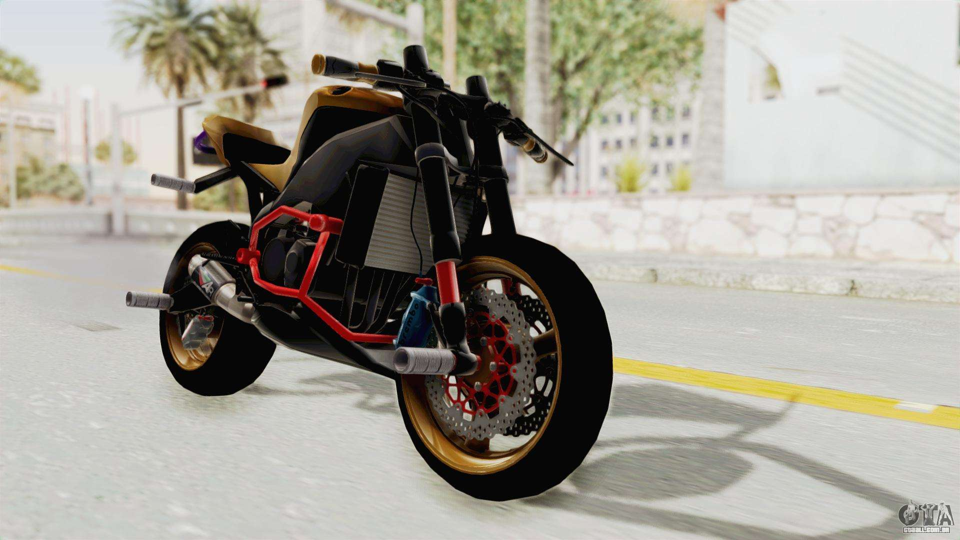 Honda Cbr1000Rr Naked Bike Stunt Para Gta San Andreas-3971