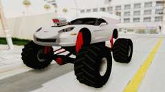 Chevrolet Corvette C6 Monster Truck