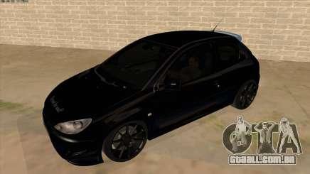 Peugeot 206 MO Edit para GTA San Andreas