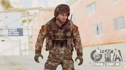 CoD MW3 Russian Military SMG v1 para GTA San Andreas