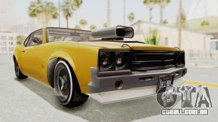 GTA 5 Declasse Sabre GT2 B IVF para GTA San Andreas