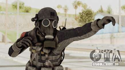 CoD MW3 Russian Military LMG Black para GTA San Andreas