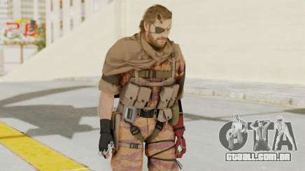 MGSV The Phantom Pain Venom Snake Scarf v5 para GTA San Andreas