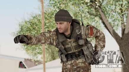 CoD MW3 Russian Military SMG v2 para GTA San Andreas