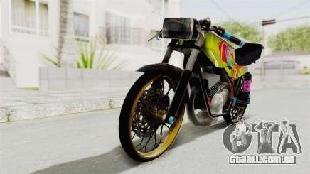 Yamaha RX King 200 CC Killing Ninja para GTA San Andreas