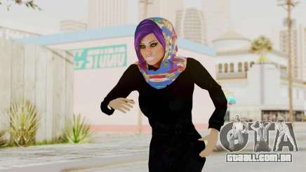Iranian Girl Skin v2 para GTA San Andreas