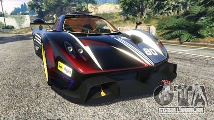 Pagani Zonda R v1.1 para GTA 5