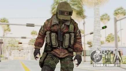 Battery Online Russian Soldier 10 v2 para GTA San Andreas